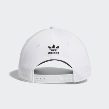 Men's Originals White Icon Pre-Curved Snapback Hat