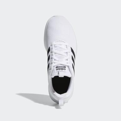 Kids Running White Lite Racer CLN Shoes