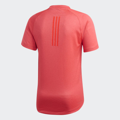Playera FreeLift 360 Fitted Climachill Rosa Hombre Training