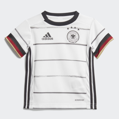 Toddlers 1-4 Years Football White Germany Home Baby Kit