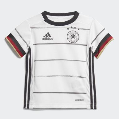 Kit Principal da Alemanha para Bebé Branco Criança Futebol