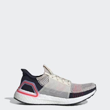 Sapatos Ultraboost 19 Bege Mulher Running