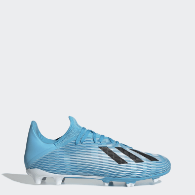 Chaussure X 19.3 Terrain souple Turquoise Football