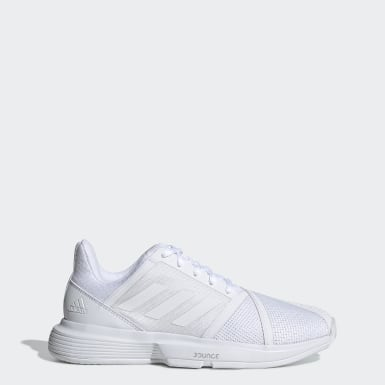 Women Tennis White CourtJam Bounce Shoes