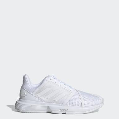 Kvinder Tennis Hvid CourtJam Bounce sko