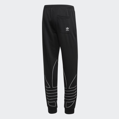 Track pants Big Trefoil Outline Nero Uomo Originals
