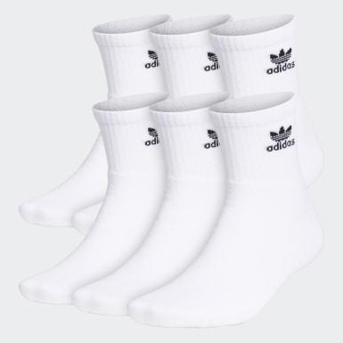 Trefoil Quarter Socks 6 Pairs
