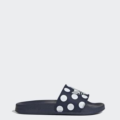 ผู้หญิง Originals สีน้ำเงิน รองเท้าแตะ Adilette Lite