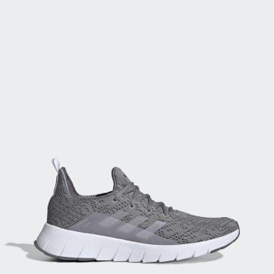 Men Running Grey Asweego Shoes