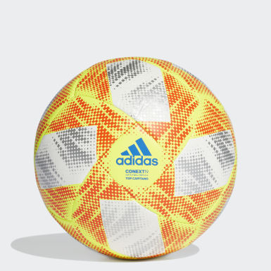 ผู้ชาย ฟุตบอล สีขาว ลูกฟุตบอล Conext 19 Top Capitano