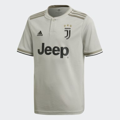 Børn Fodbold Beige Juventus udebanetrøje