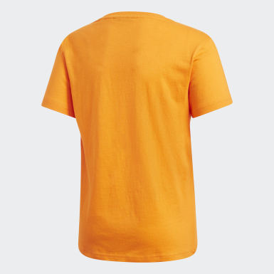 T-shirt Pharrell Williams orange Adolescents Originals