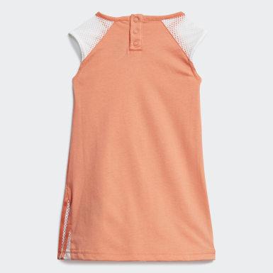 Girls Training Orange Dress