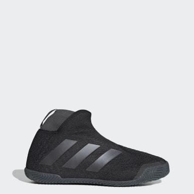 Sapatos Stycon Sem Atacadores – Terra Batida Preto Mulher Ténis