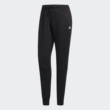 черный Флисовые брюки