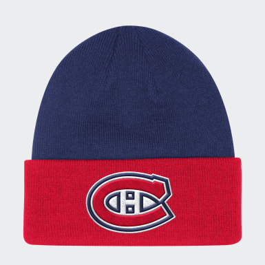 Men Hockey Multicolor Canadiens Coach Cuffed Beanie