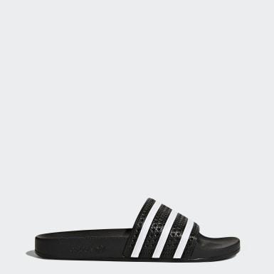 adilette sandaler Svart
