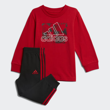 Infant & Toddler Training Red Playtime Top and Joggers Set