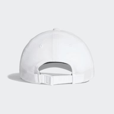 Athletics White Climalite Cap