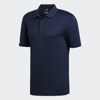 Muži Golf modrá Polokošeľa Performance
