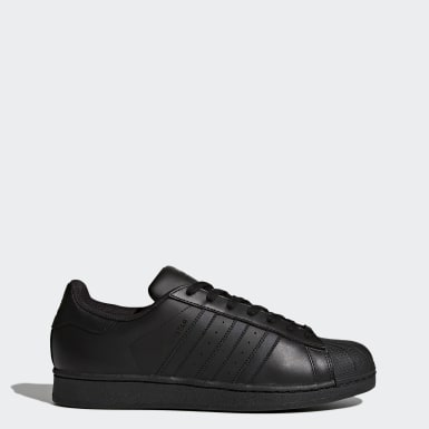 Tenis Superstar Foundation Negro Hombre Originals