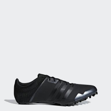 черный Шиповки для легкой атлетики adizero finesse
