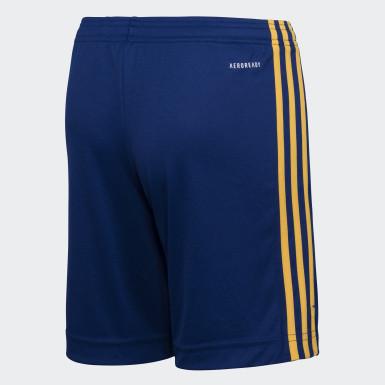 Shorts Uniforme Titular Boca Juniors 20/21 Azul Niño Fútbol