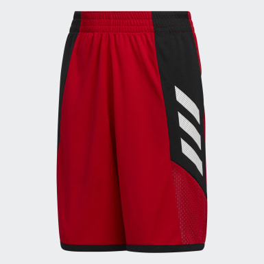 Short Pro Bounce rouge Enfants Basketball