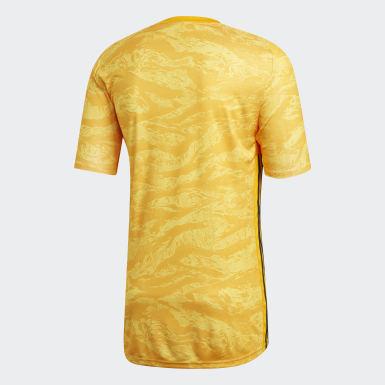 желтый Вратарская футболка AdiPro 19