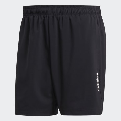 Heren Training Zwart Essentials Plain Chelsea Short