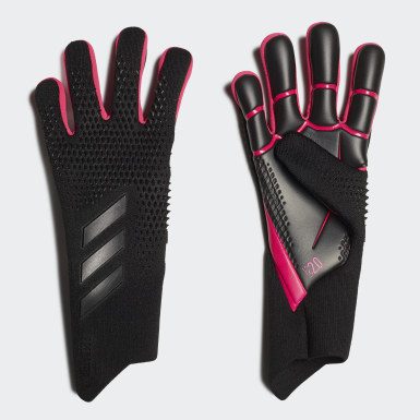 Football Black Predator 20 Pro Goalkeeper Gloves