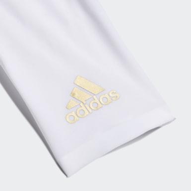Protège-tibias X 20 Pro Blanc Football
