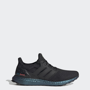 Men Walking Black Ultraboost Shoes