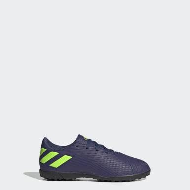 Zapatos de Fútbol Nemeziz Messi 19.4 Césped Artificial Azul Niño Fútbol