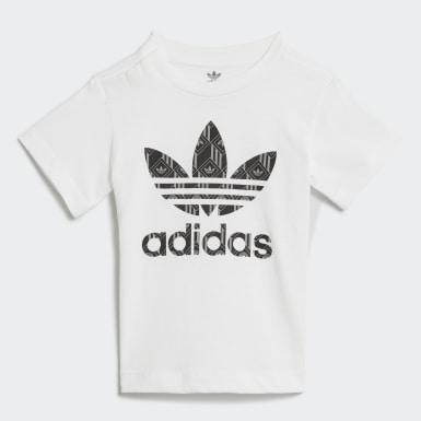 Ensemble Short et T-shirt Blanc Enfants Originals