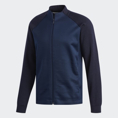 Chaqueta Adipure Bonded Knit Azul Hombre Golf
