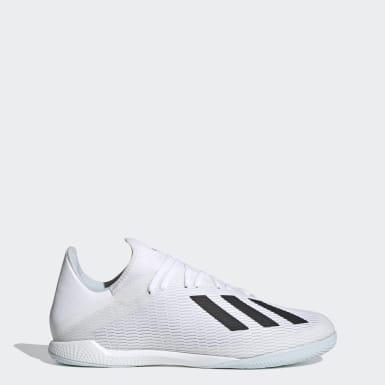 Zapatos de fútbol X 19.3 Cancha Cubierta Blanco Hombre Fútbol