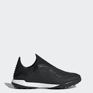 Men Football Black X Tango 18+ Turf Boots