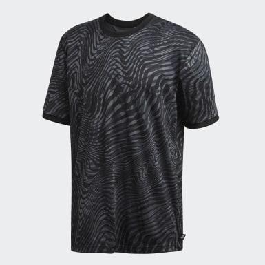 Mænd Fodbold Sort Tango trøje
