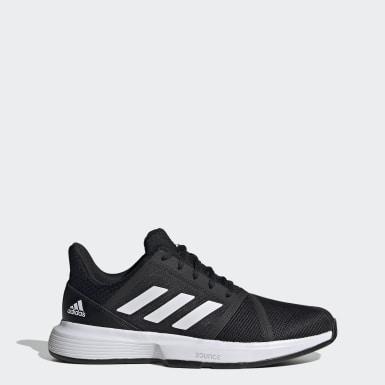 Erkek Tenis Siyah CourtJam Bounce Ayakkabı