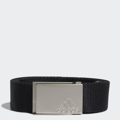 Women Golf Black Web Belt