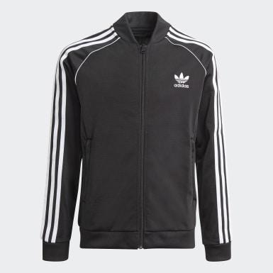Track jacket adicolor SST Nero Bambini Originals