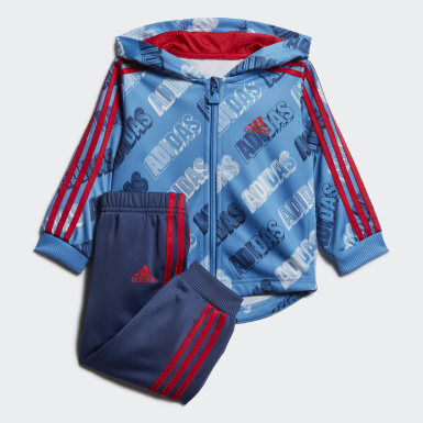 Conjunto Deportivo Shiny (UNISEX) Azul Niño Training