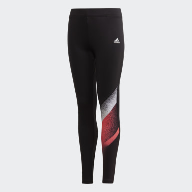 Leggings Unleash Confidence Preto Raparigas Ioga