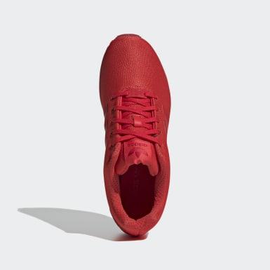Sapatos ZX Flux Vermelho Originals