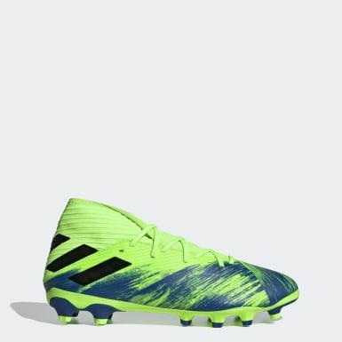 Fodbold Hvid Nemeziz 19.3 Multi-Ground støvler