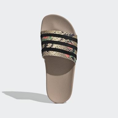 Kvinder Originals Beige Adilette sandaler