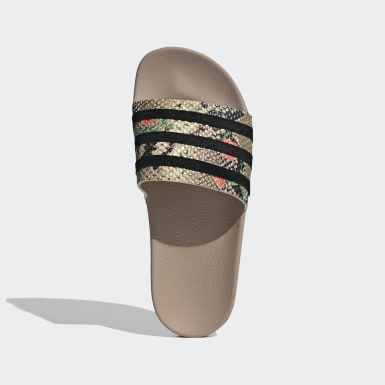 Women Originals Beige Adilette Slides