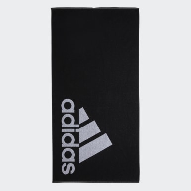 Pozemní Hokej černá Ručník adidas Large
