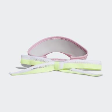 Women Golf Pink Ribbon Visor